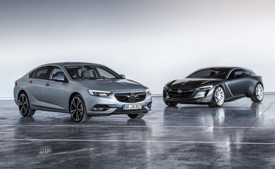 Opel insignia grand sport i opel monza