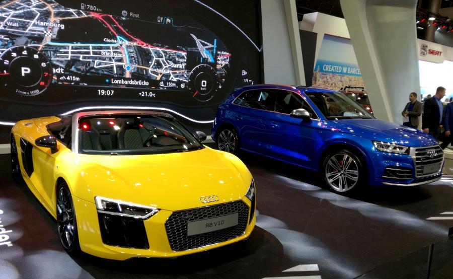 Audi R8 Spyder i Audi SQ5