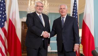 Waszczykowski i Tillerson