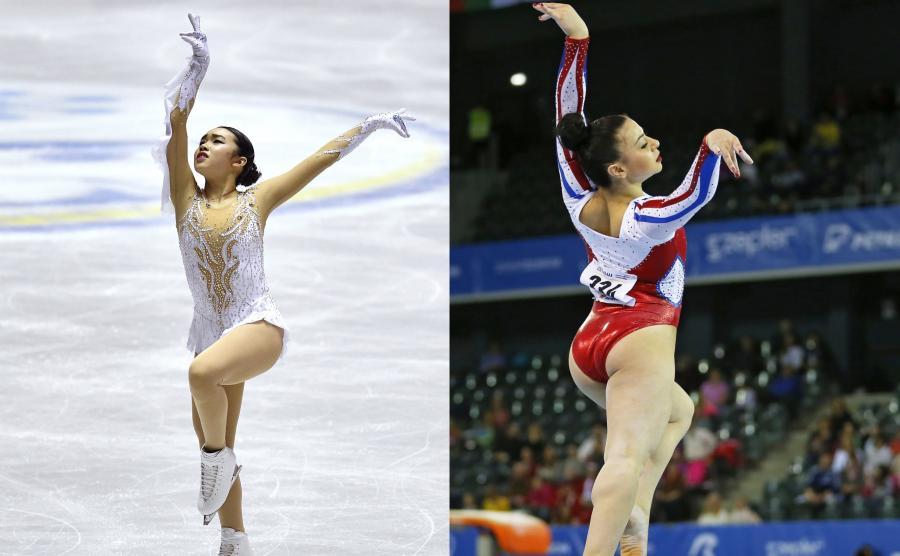 Karen Chen i Claudia Fragapane