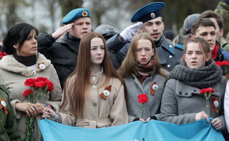 Rosyjska młodzież w Braniewie