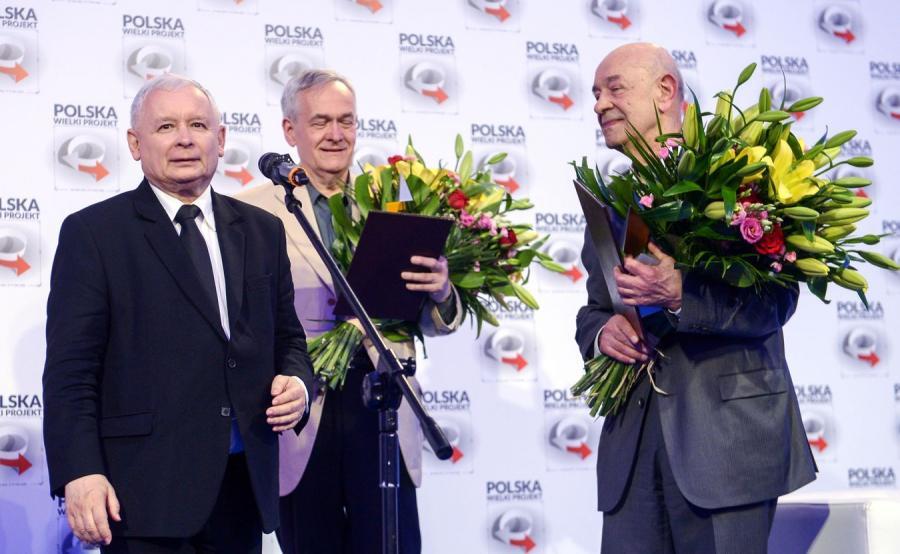 Jarosław Kaczyński, Andrzej Krauze i Antoni Krauze