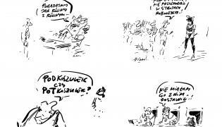 rysunki Henryka Sawki
