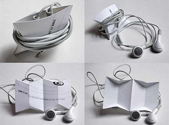 Słuchawki od iPoda - wreszcie bez supełków
