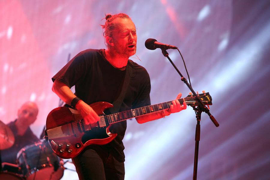 Radiohead na Open\'er 2017; fot. Joanna Combik