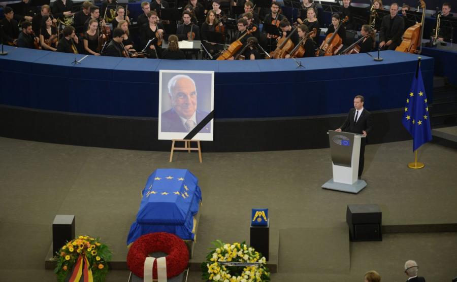 Uroczystości ku pamięci Helmuta Kohla