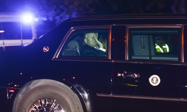 Trump przemknął bestią przez Warszawę. Secret Service zastosowała sztuczkę z dwiema limuzynami