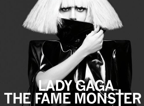 "Okładka płyty Lady GaGi ""The Fame Monster"""