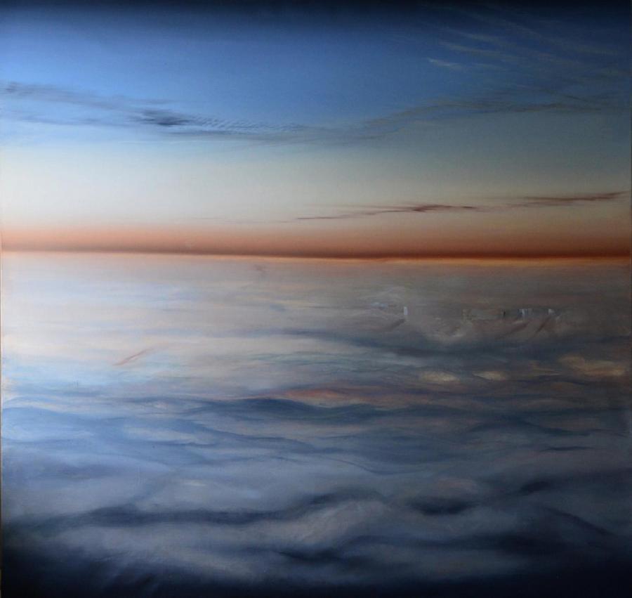 Urszula Kałmykow - Wschód słońca nad Londynem