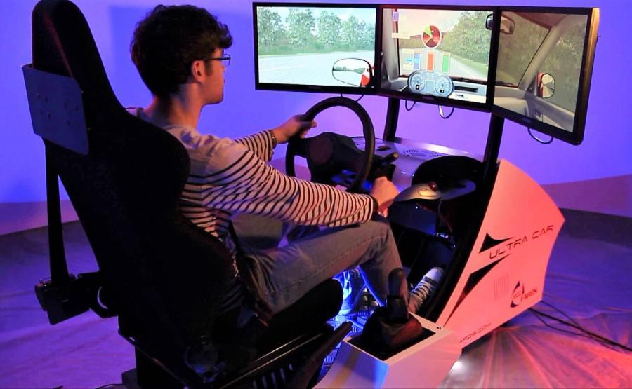 Symulator dla kierowcy