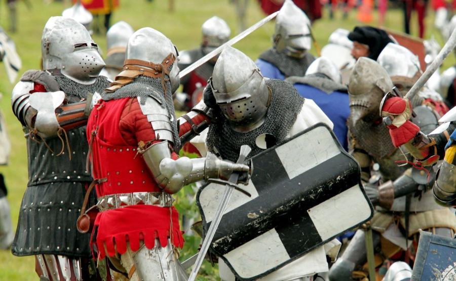 Inscenizacji bitwy pod Grunwaldem