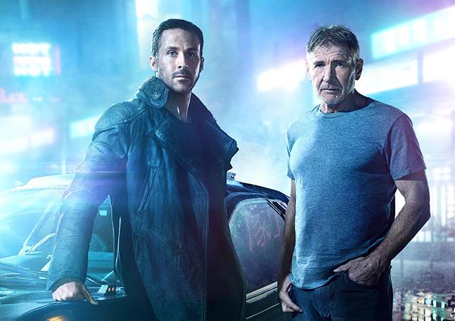 Ryan Gosling oraz Harrison Ford w filmie \