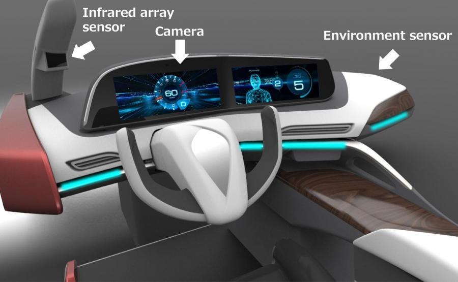 Panasonic opracował technologię chroniącą kierowców przed zaśnięciem