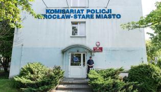 Komisariat, na którym zmarł Igor Stachowiak