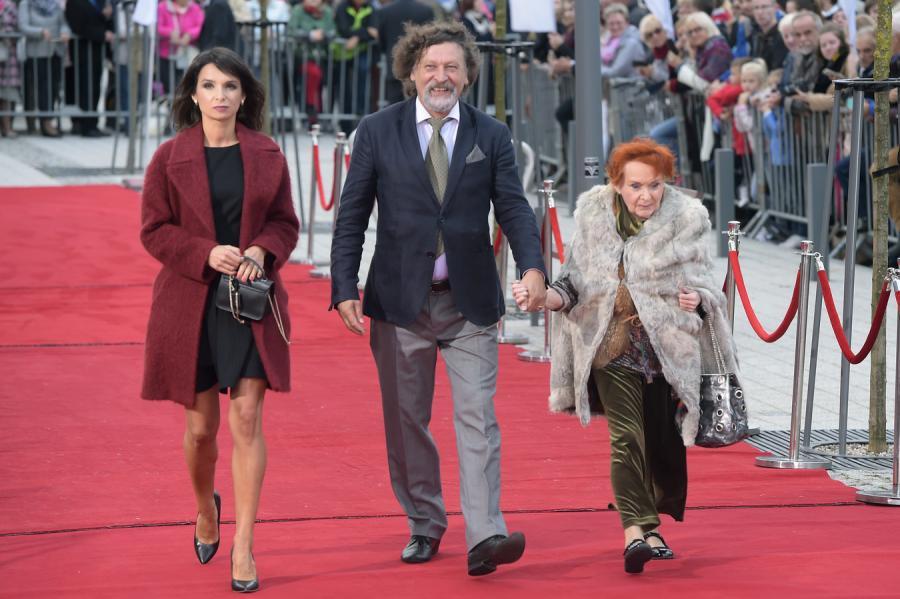 Marta Kaczyńska, Jan Maria Tomaszewski i Barbara Krafftówna