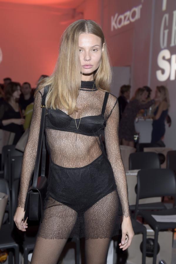 Modelka Magdalena Frąckowiak