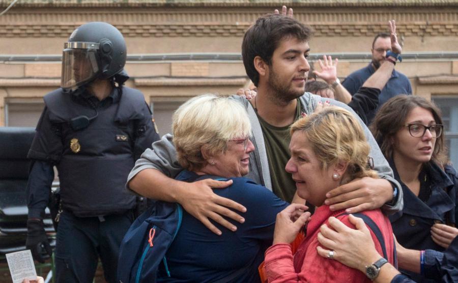 Katalończycy na ulicy