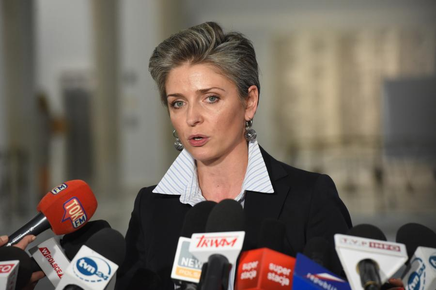 Posłanka PO Joanna Mucha