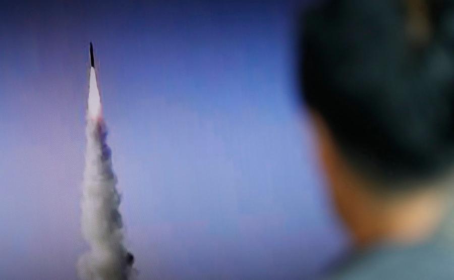 Test koreańskiej rakiety