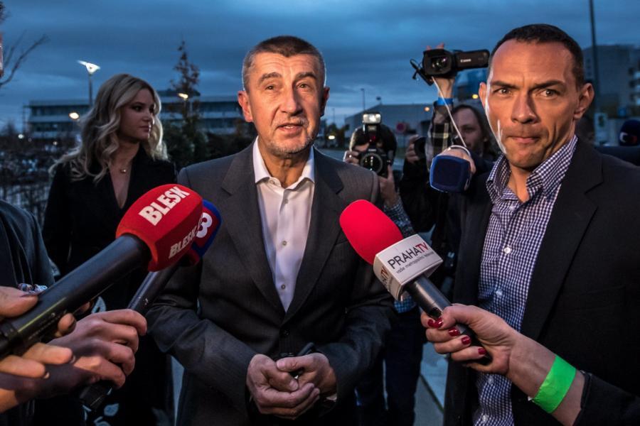 Czechy wybory Babisz