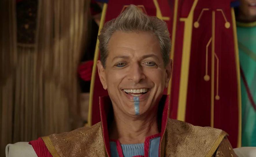 Jeff Goldblum jako disco-dyktator Grandmaster