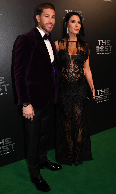 Sergio Ramos i Pilar Rubio