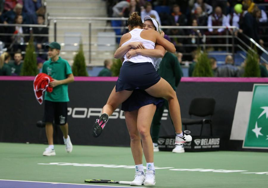 Coco Vandeweghe i Shelby Rogers