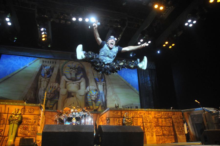 Bruce Dikinson, wokalista Iron Maiden