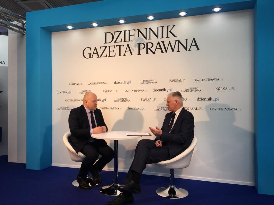 Jarosław Gowin i Grzegorz Osiecki