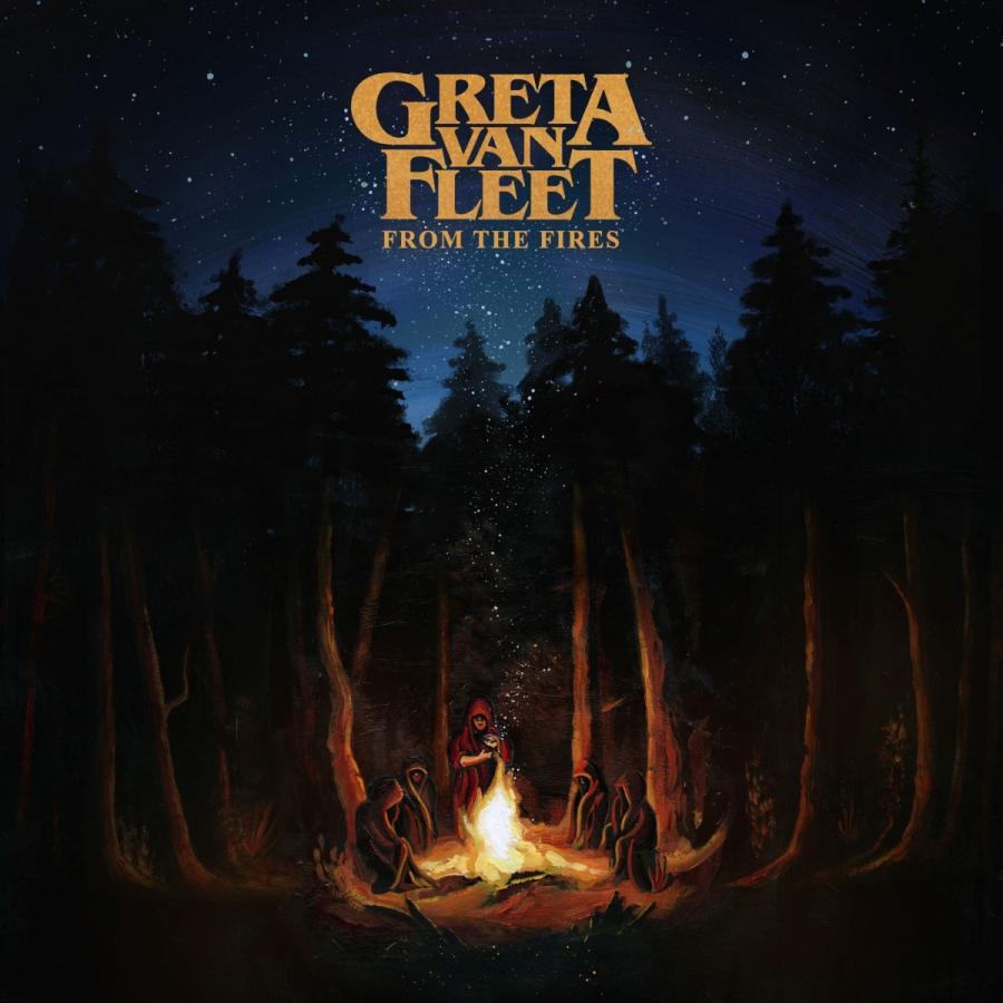 """Greta Van Fleet to czteroosobowa grupa rockowa, której muzyczne aspiracje wykraczają znacznie poza amerykańską prowincję z której pochodzą. Prezentują zaskakującą mieszankę stylistyczną – odważnie łączą rock'n'roll z metalowymi, popowymi, bluesowymi i grunge'owymi smaczkami, zręcznie lawirując między ponadczasowością a nowatorskim brzmieniem.  Greta Van Fleet tworzą bliźniacy Josh Kiszka (wokal) i Jake Kiszka (gitary), młodszy brat Sam Kiszka (bass) oraz najlepszy przyjaciel Danny Wagner (perkusja).  Dorastali w Frankenmuth wśród winyli i wpływów rozmaitych artystów, od Hendrixa do Crosby, Stills, Nash & Young, od Czajkowskiego do The Who, od """"Władcy pierścieni"""" do """"Apokalipsy"""" i od Roberta Frosta do Ernesta Hemingwaya. Greta Van Fleet """"From The Fires"""" Universal Music Polska"""