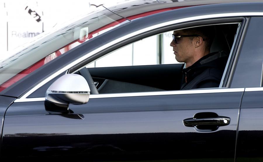 Cristiano Ronaldo za kierownicą Audi RS 7 Sportback performance