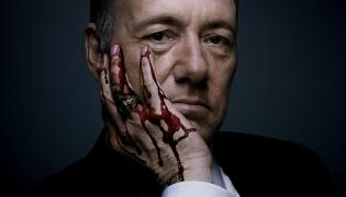 "Kevin Spacey jako Frank Underwood w ""House of Cards"""