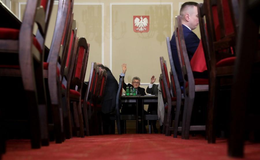 Przewodniczący komisji Stanisław Piotrowicz