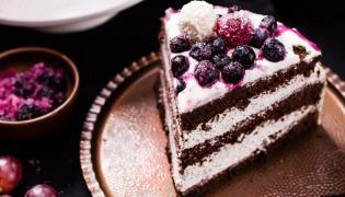 Tort piernikowo-makowy