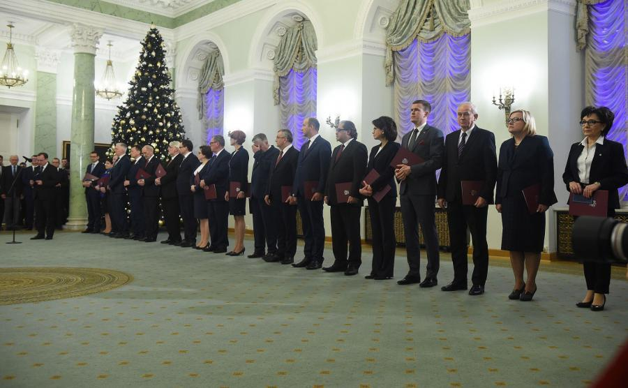 Ministrowie rządu Mateusza Morawieckiego