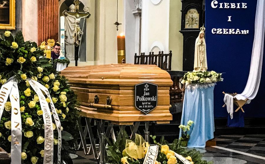Pogrzeb Jana Polkowskiego