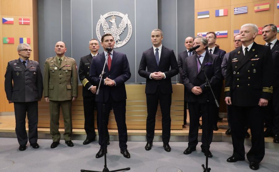 Wiceminister Bartosz Kownacki