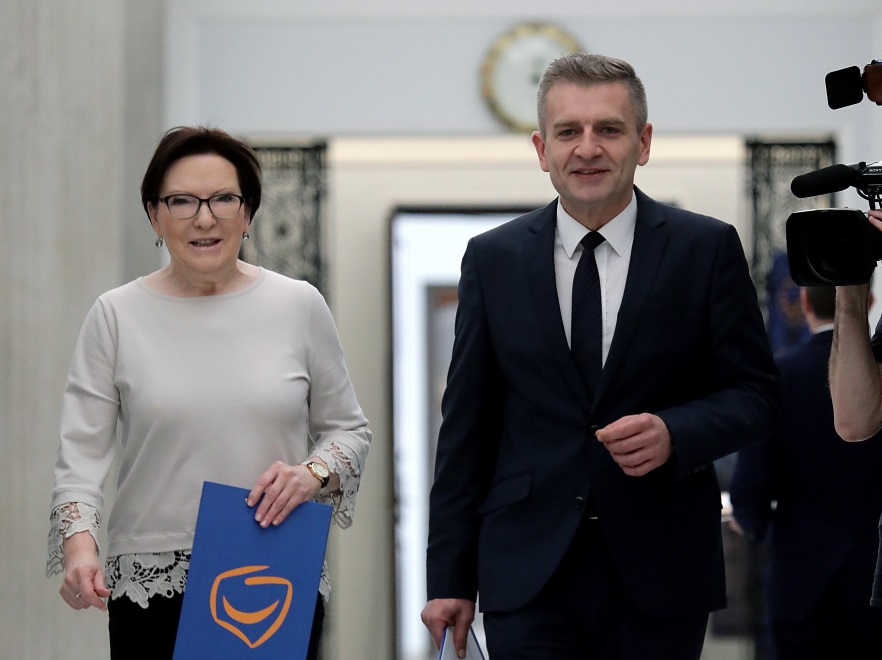 Ewa Kopacz i Bartosz Arłukowicz