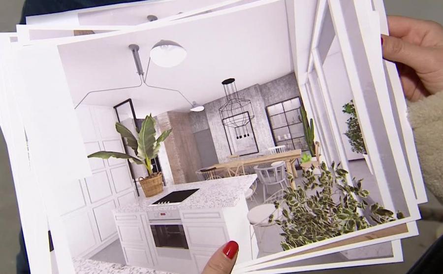 Jessica Mercedes i jej mieszkanie