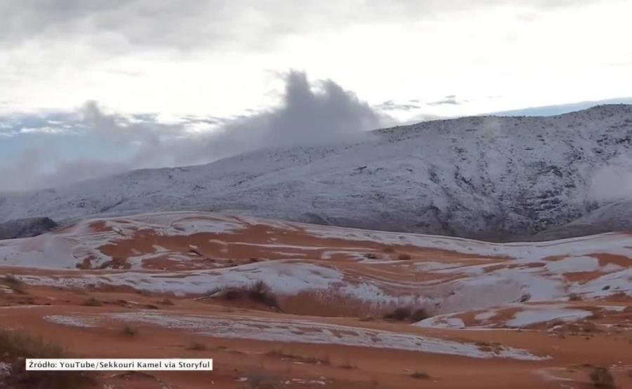 Zima na Saharze