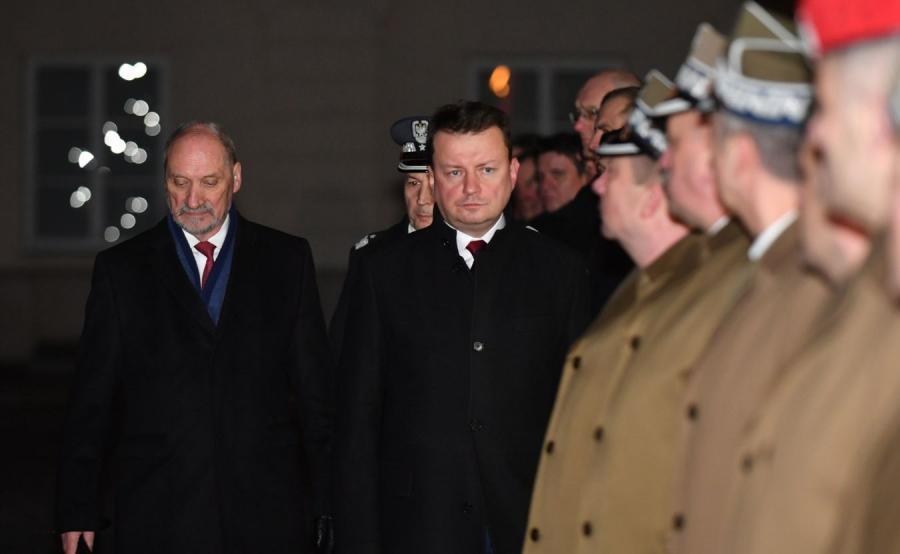 Antoni Macierewicz i Mariusz Błaszczak
