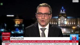"""Skrin z programu """"Minęła 20"""""""
