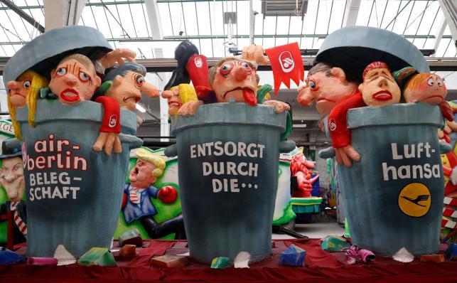 Parada w Dusseldorfie