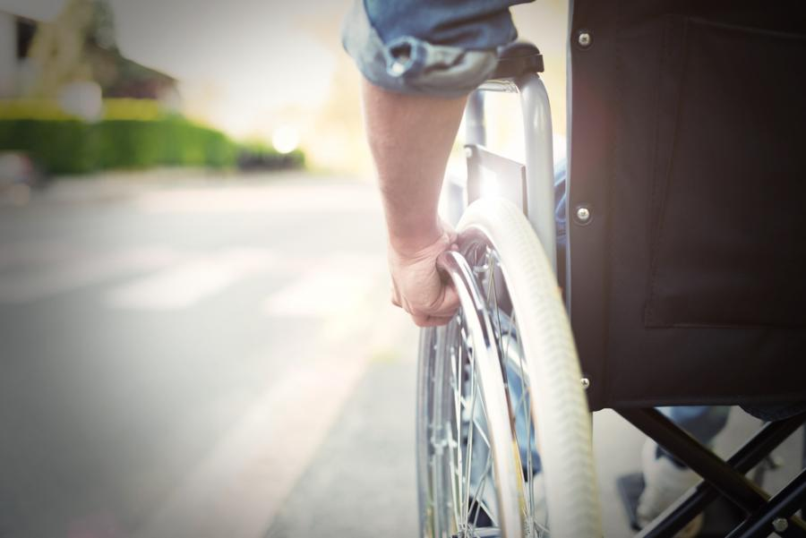 niepełnosprawny