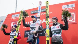 Stefan Kraft, Daniel-Andre Tande i Michael Hayboeck