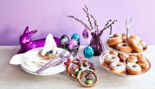 Stół na Wielkanoc