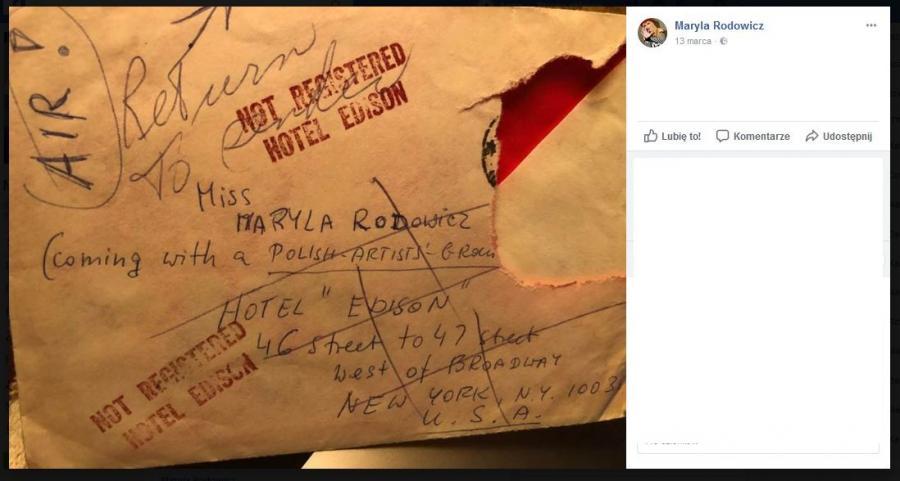 listy Maryli Rodowicz