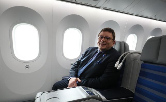 prezes PLL LOT Rafał Milczarski