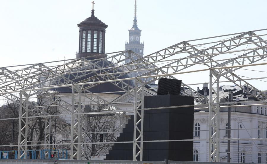 Pomnik będzie odsłonięty 10 kwietnia