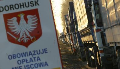 Firmy transportowe grożą paraliżem stolicy i głównych dróg wschodniej Polski